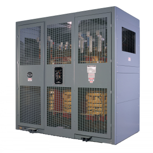It is important to keep dry-type transformer enclosures clean and the area around them clear.